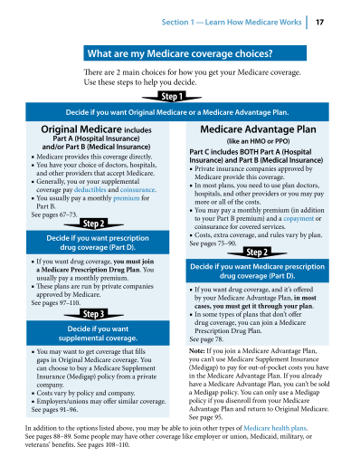 Medicare and You Page 17